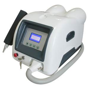 ND YAG laser tattoo removal machine with 1064&532nm heads