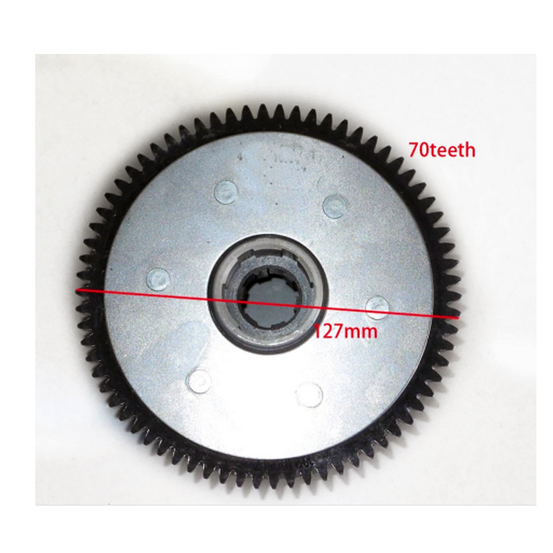 CB200 CLUTCH ASSY 3
