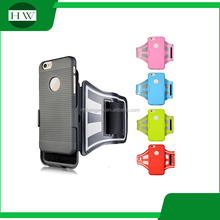 90 degree rotation mobile phone running armband case