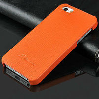 Colorful back cover leather cases for iphone 5s 5g Litchi Leather Back Case For iPhone 5s cool phone back cover