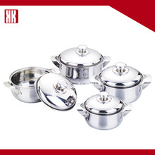 All Clad Camping Kitchenware 555 Stainless steel Cooware Sets