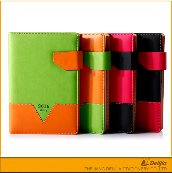 Manufacturer free sample notebook with plastic cover
