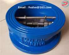 Duo Plate Flange Wafer Check Valve