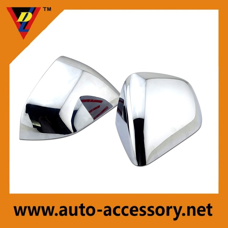 Chrome auto parts for ford mustang car rearview mirror cover