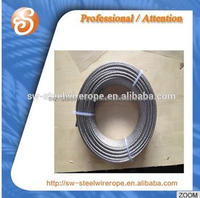 China Supplier 4mm Steel Wire Rope