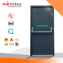Asico UL Listed 3 Hours Steel Fire Rated Door For Commercial