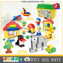 hot selling creative children educational mini diy house toy with hight quality