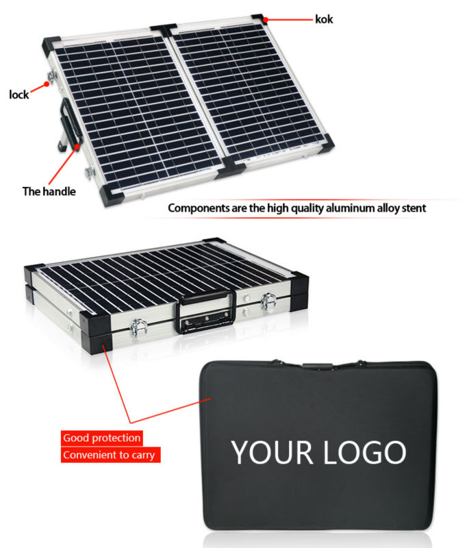 Hot Selling 40w portable folding solar panel kit