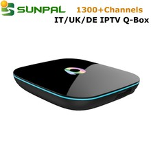 Wholesale android tv box with italy iptv account one year 6 month ip tv apk account italian iptv albania channels