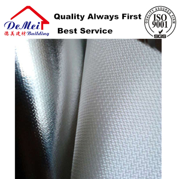 fiberglass cloth aluminum foil with fire/ glass cloth laminated aluminum foil/ glass wool facing