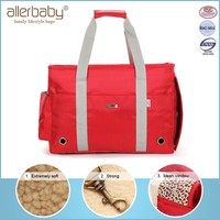 Red walking dog carrier,cat carrier,competitive price and best serive