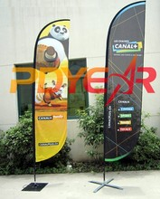 outdoor custom flags promotional feather flag