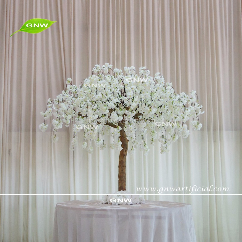 GNW CTR1605008-C Peach Cherry Blossom Centerpieces Custom size Wedding Table Decoration