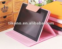 Buckled Pink Leather Case Bluetooth Keyboard for ipad 2/3