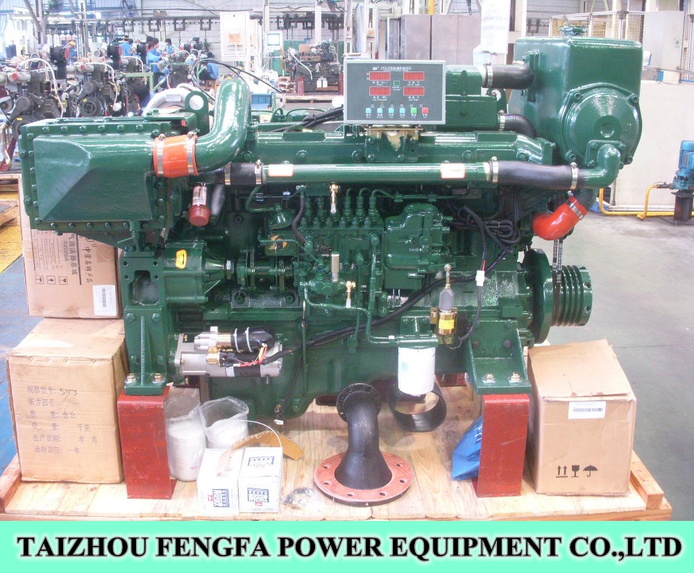 High Quality 6 cylinder 200kw Marine Main engine for ship