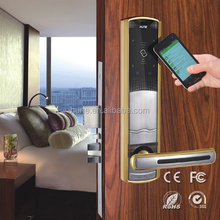 novel design security intelligent magnetic card door lock systems