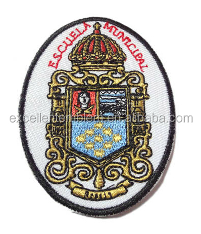 Product Type and Embroidered Technics custom embroidery woven patches/badges