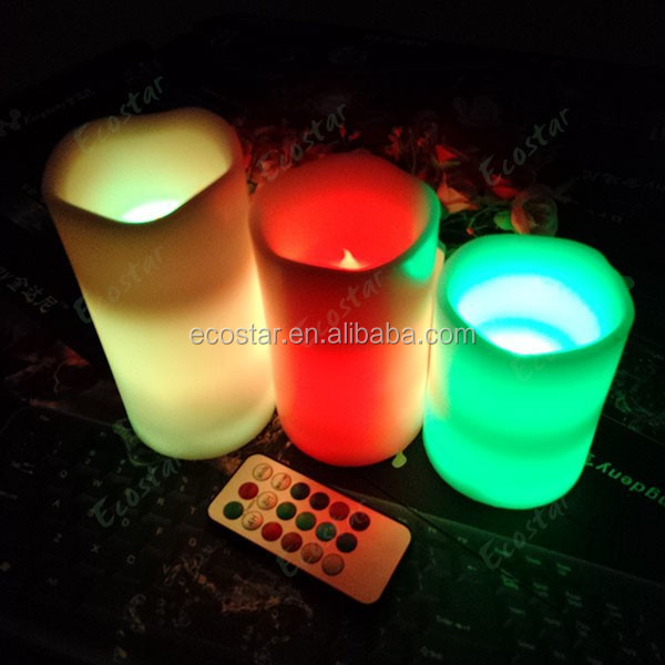 2014 new product Multi Function Remote Control led light candle