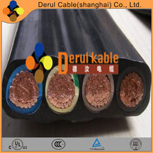 Elevator flat flexible power cable
