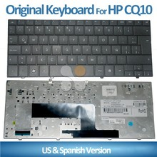 Laptop Keyboard Layout Spanish for HP Compaq Cq10-100 cq10-110 CQ10-120 CQ10-130 laptop with spanish keyboard