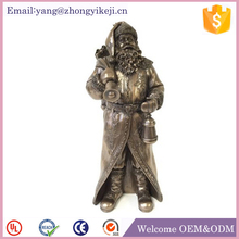 Polyresin Santa ClauseSanta outdoor christmas sculptures