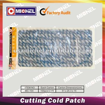 DIY Cutting Cold Rubber Patch