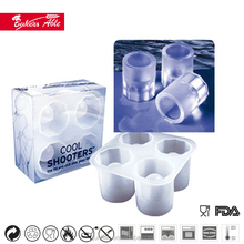 4 cavity silicone cool shooters