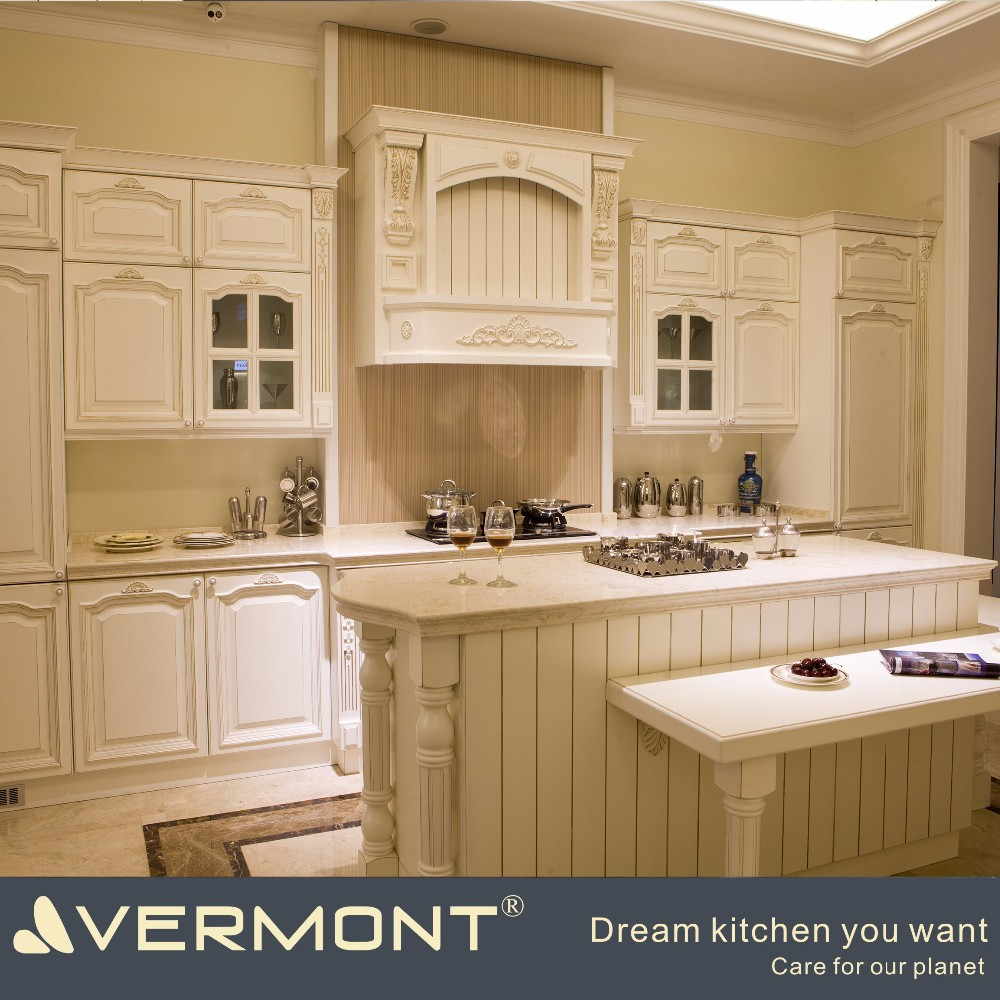 High end Italian style kitchen cabinet