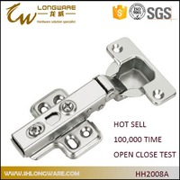 butterfly hinges Clip on four hole hinge kitchen corner cabinet hinges