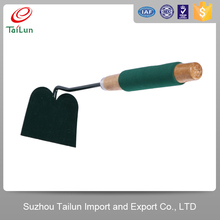 wooden handle small garden hoe shovel types