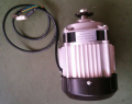 motor dc 24v500w mid drive motor for electric rickshaw