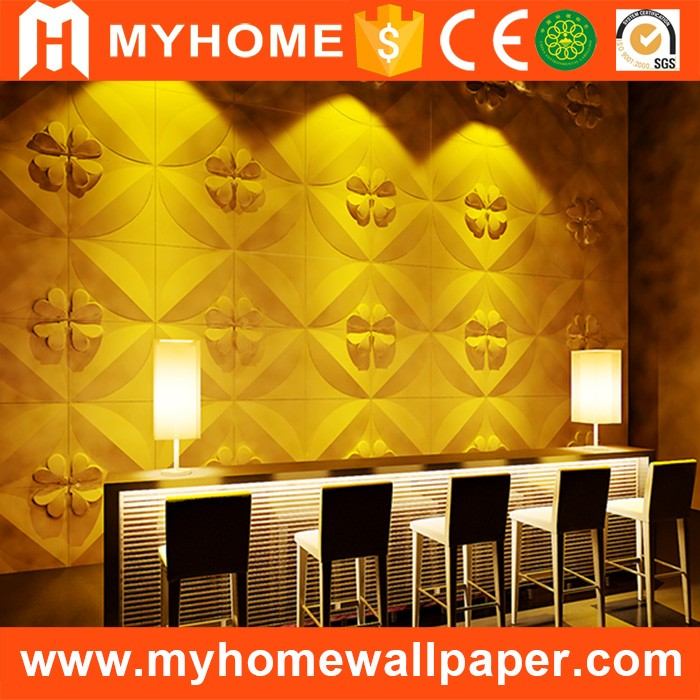 Wholesale Cheap Eco-friendly Bamboo Wallpanel Wall Covering Lightweight Interior Exterior Decorative 3D Wall Panel
