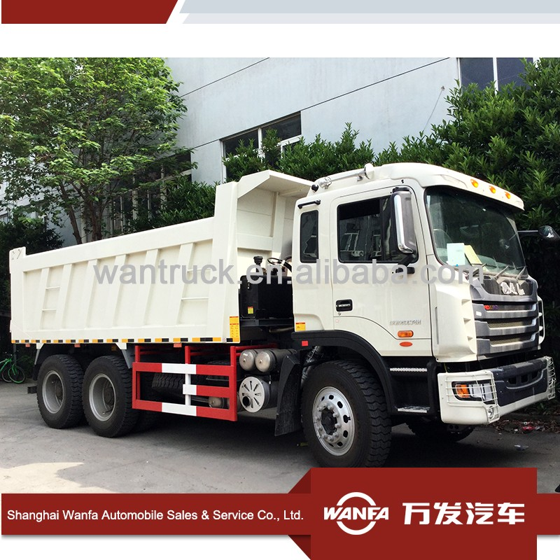 China JAC F2000 10 wheel 40 ton sand tipper dump truck for sale