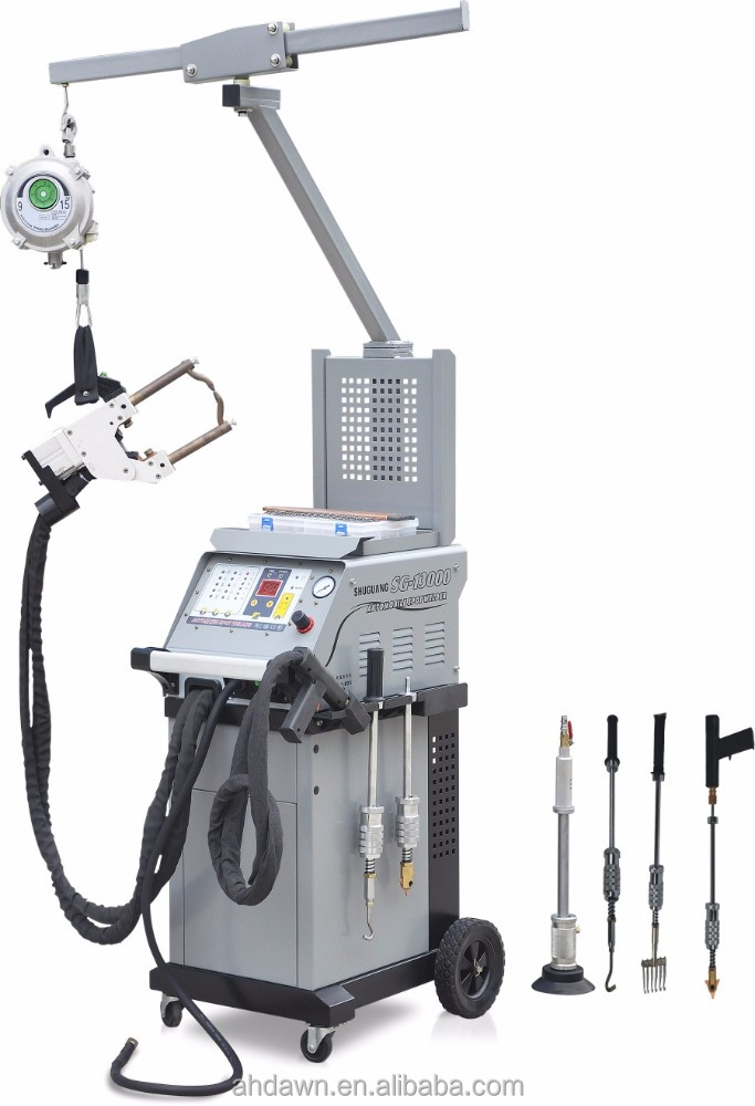 2PH380V 11000A spot welding machines with dent puller for automobile repair and car repair