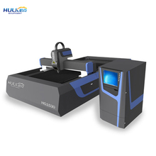 2017 hot sale HG1530 Fiber laser cutting machine for stainless steel