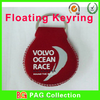 Neoprene floating keychain cheap floating key chains