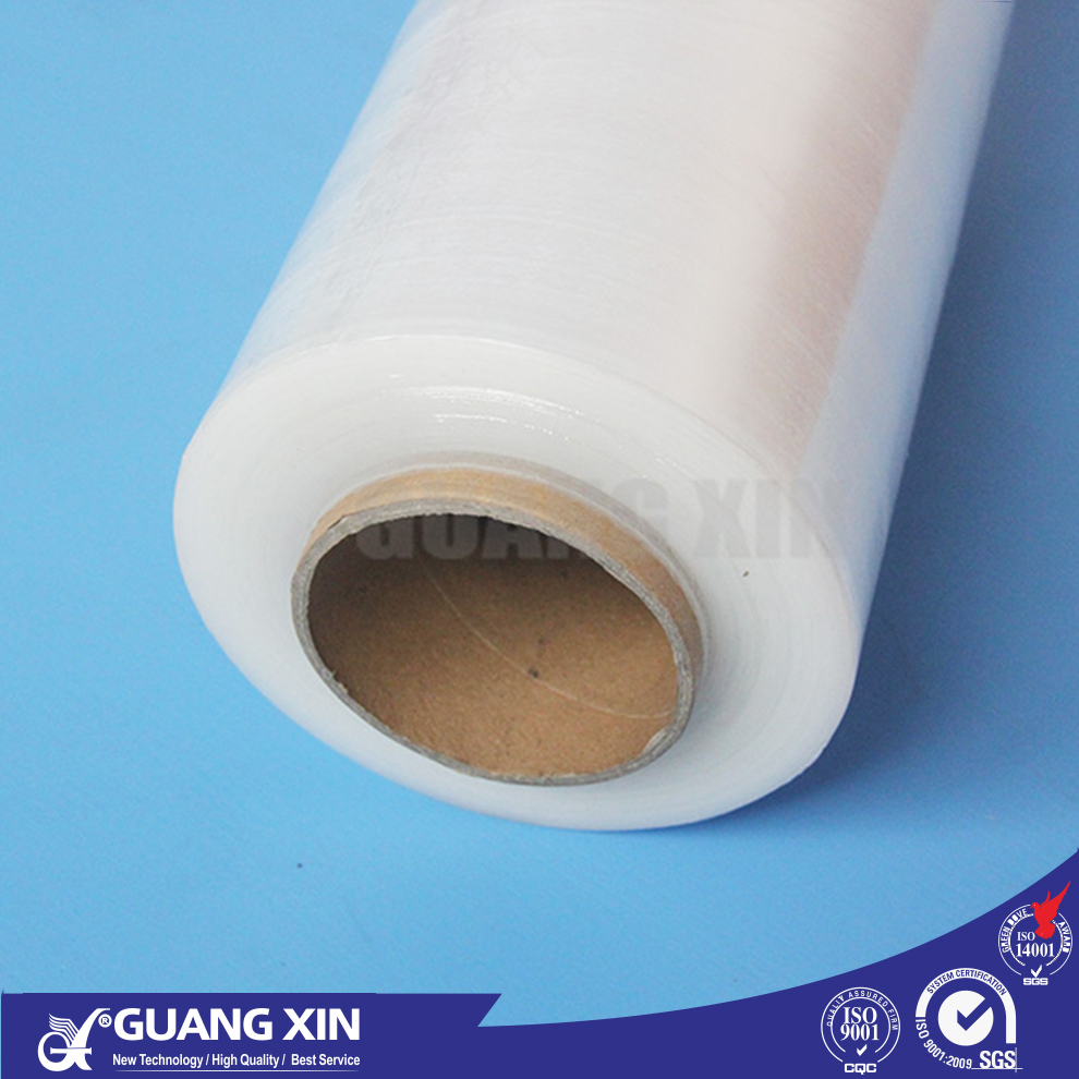 professional manufacture transparent casting hand machine LLDPE MPE plastic pe stretch shrink cling film