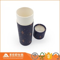 round cardboard cylinder gift packaging boxes with clear window