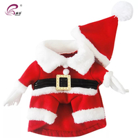 Cheap Price Dog Pet Christmas Skirt Santa Outfit Costumes Clothes
