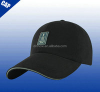 Long bill low profile crown sports baseball cap for man