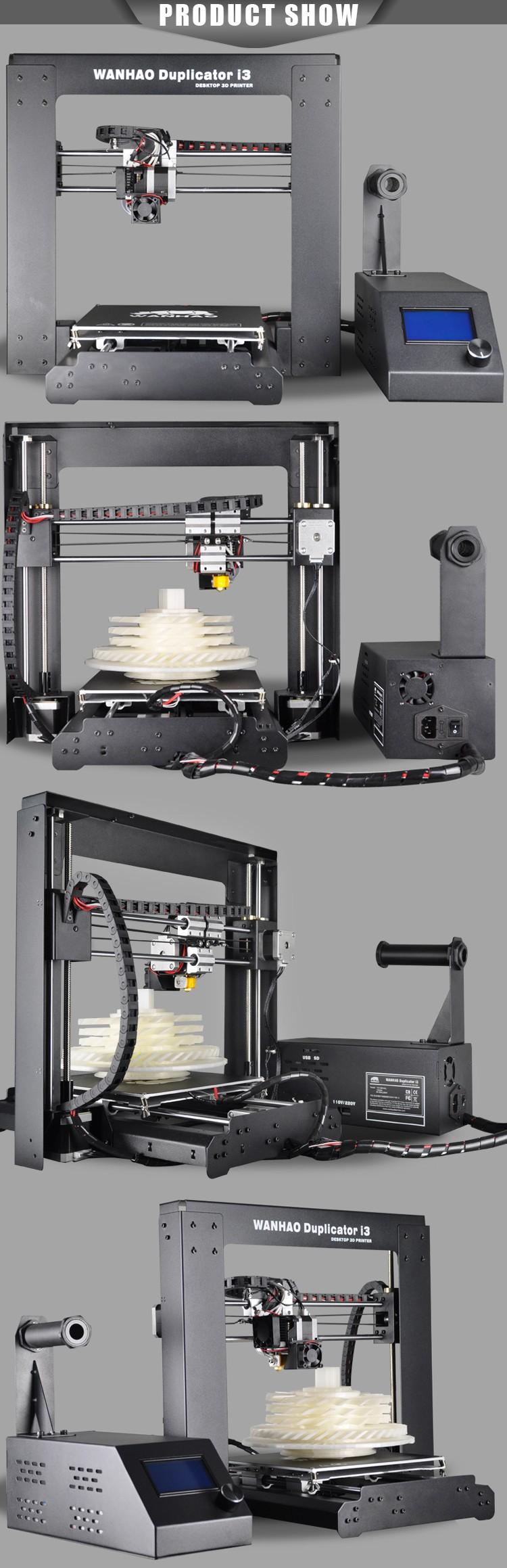 diy large format printer,metal 3d printer machine,reprap prusa i3 kit