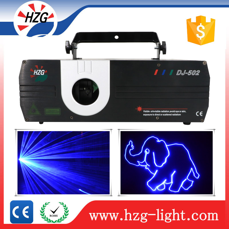 Christmas Decoration 2w Concert Programmable Projector Animation Stage Laser Light for Wedding/Family Party/Nightclubs