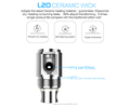 electronic cigarette accessories ceramic wick L20 Ceramic Wick Tank vape kit