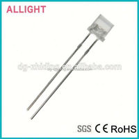 Hot sale 5mm flat top led white