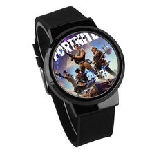 Factory Unisex Fortnite watch, Llama LED wrist watch, Silicon digital touch screen fortnite wristwatch for gifts