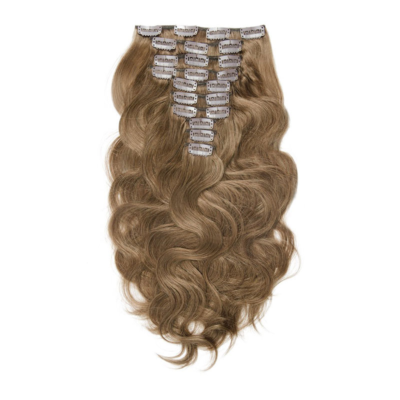 Colored Brazilian Hair Extensions Body Wave Clip In Hair Buy Clip