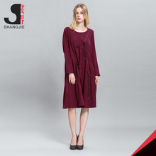 """H"" shape Beautiful Lady One-Piece Fashion Cotton Lady Dress"