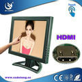 2013 Newest Design 15 Inch LCD 4 Wire Resistive Touch Screen Monitor HDMI In Monitor