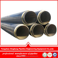high quality and competitive price split pre-insulated tubing with polyurethane foam insulation