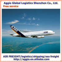 Competitive air freight from China for silica gel cake brushes accessories air logistics